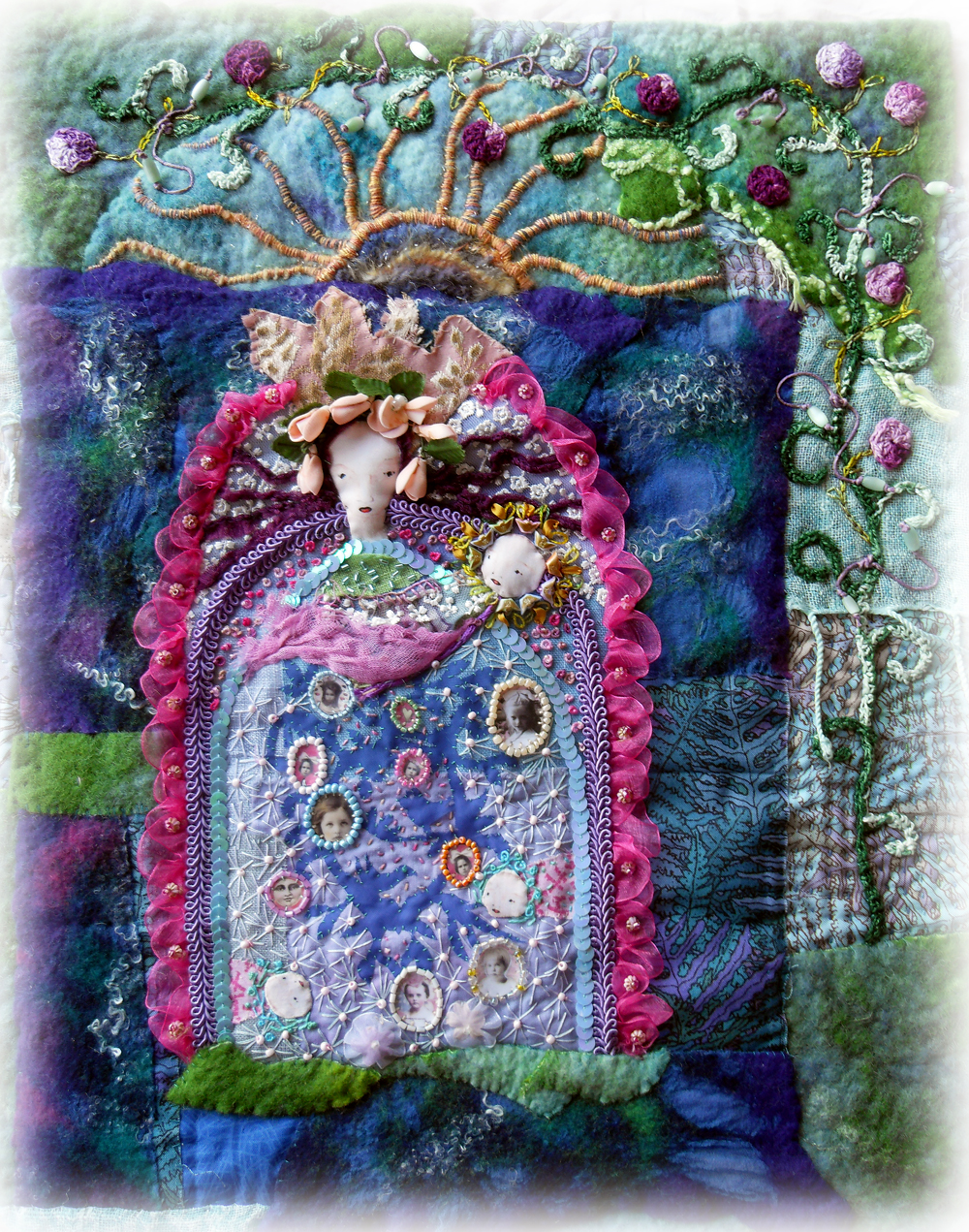 THE FABRIC OF MEDITATION - SARA LECHNER\'S BLOG: 2010
