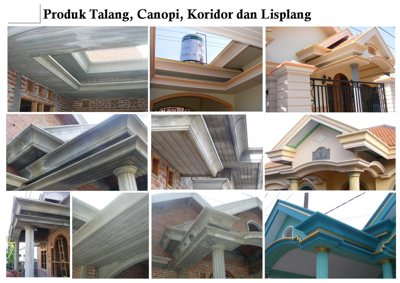 Profil Lisplang Beton Minimalis Desain Rumah