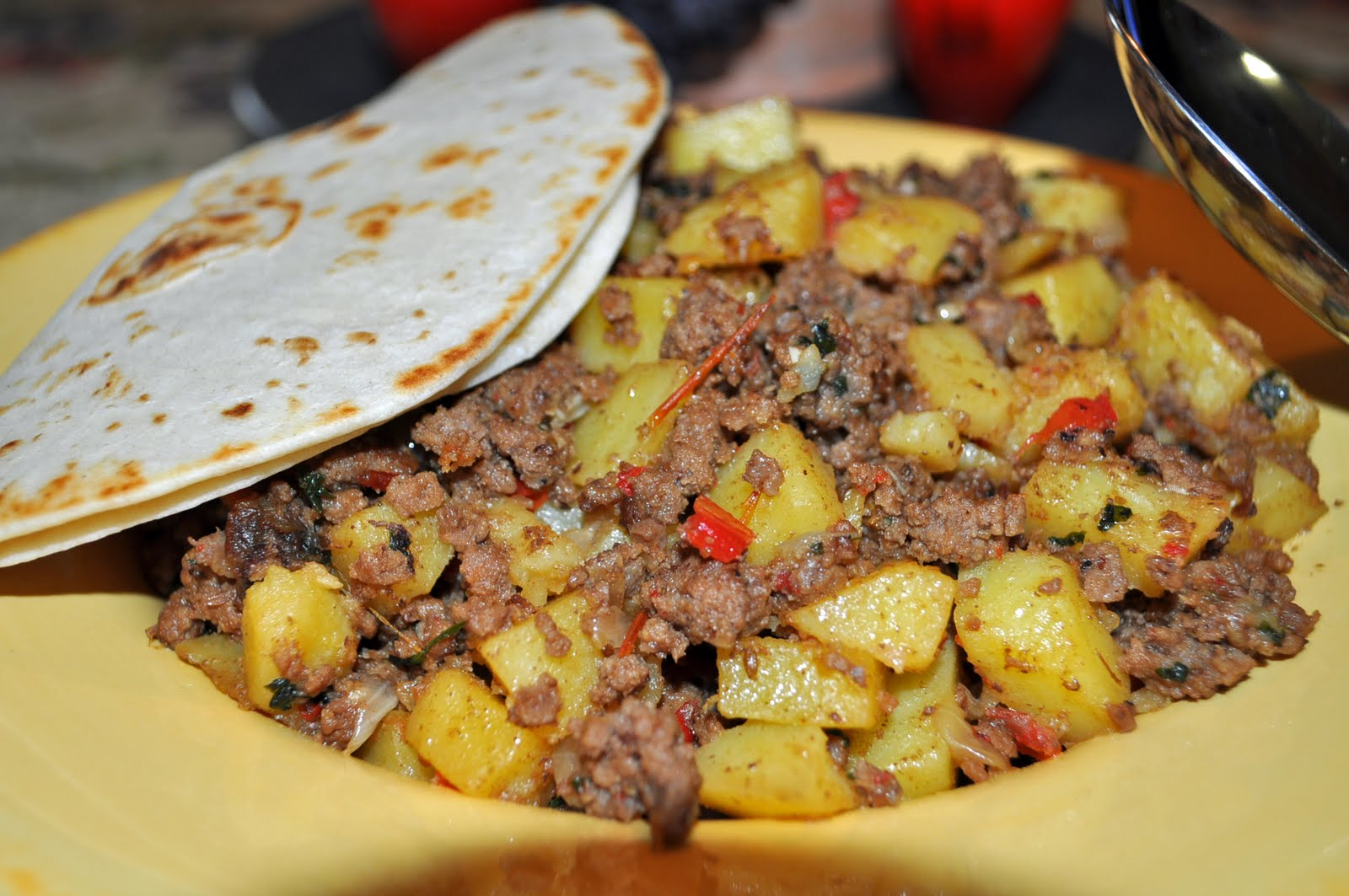 Mi Cocina Latina Com Recipes My Cocina My Kitchen Mexican Picadillo