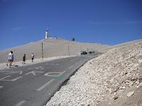 Top Mont Ventoux Frankrijk