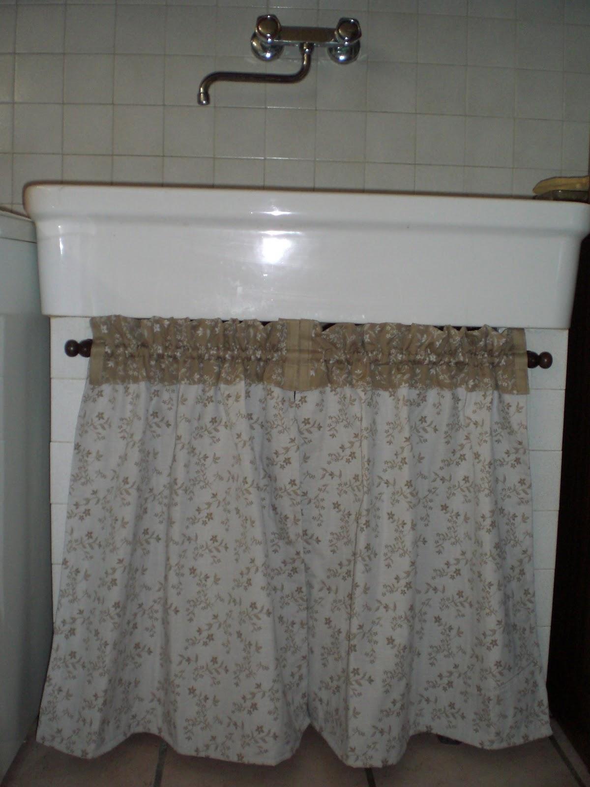 Molto I sogni nel cassetto: tendina sotto lavello QI06