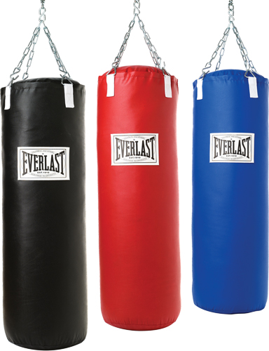Punching Bag Boxing With Everlast Punching Bag