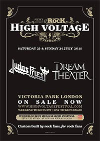 Judas Priest y Dream Theater al High Voltage Festival