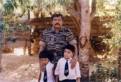 LTTE Cheif Prabhakaran died with his son Balachandran