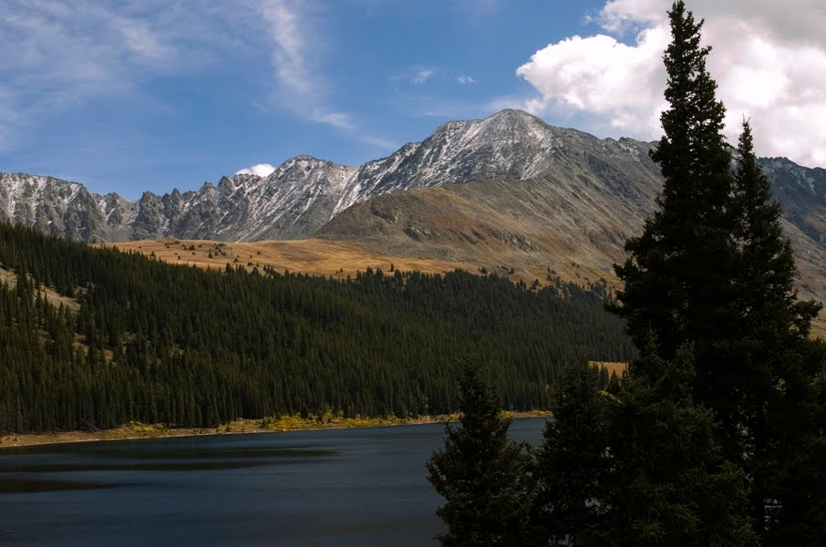 Tenmile Range near Leadville, Colorado.