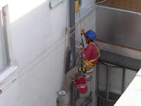 imagen del cambio bajante por trabajos verticales en madrid