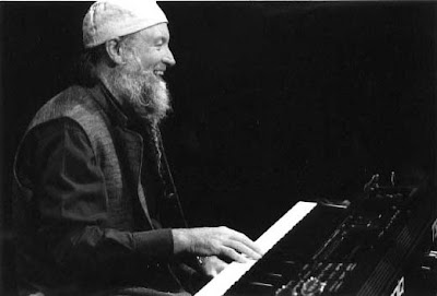 Terry Riley at the Manca Festival. Nice France