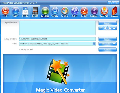 Software Arena : Download and Reviews: Magic Video Converter Latest