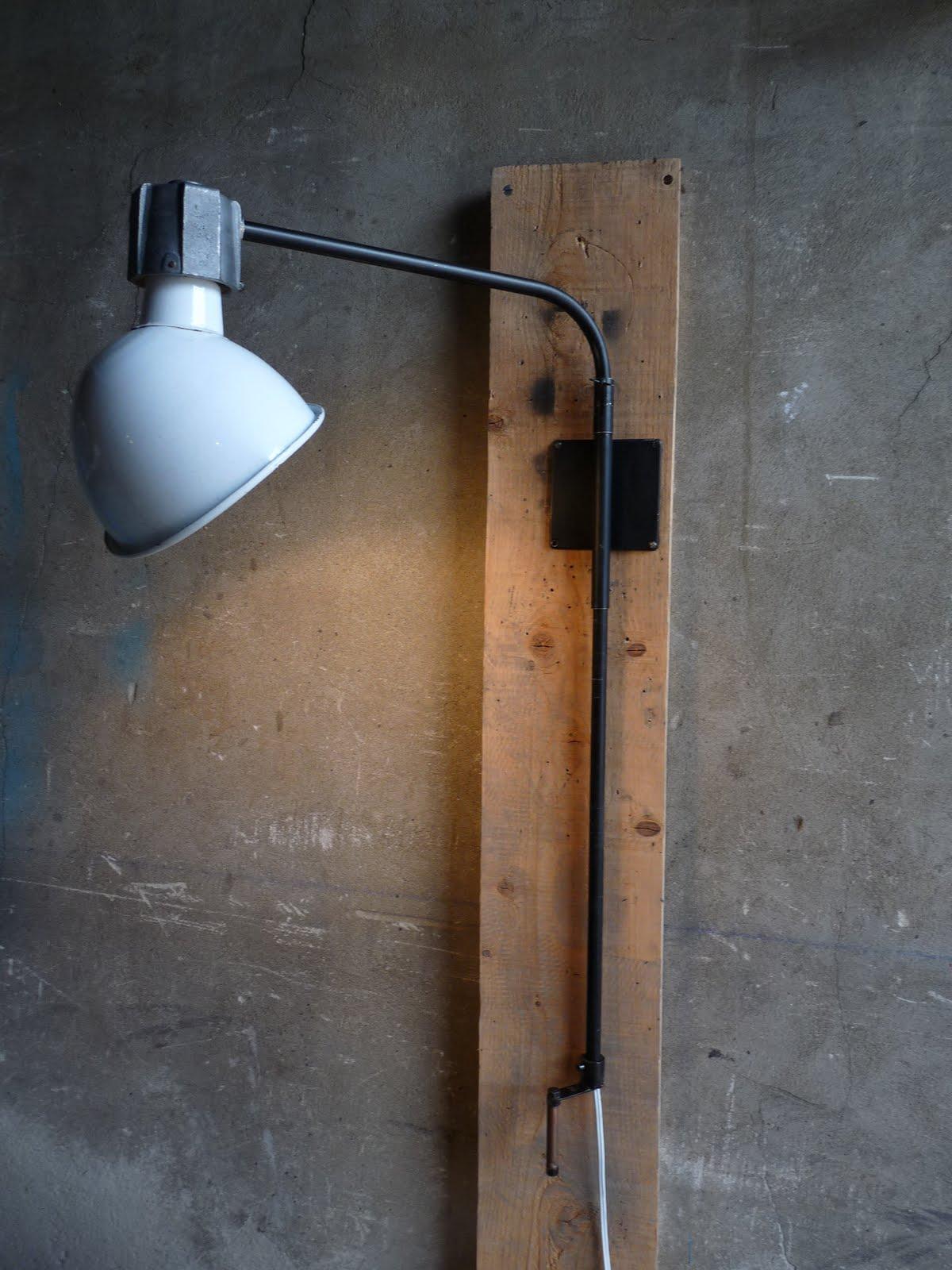 Wo and w collection applique industriel d 39 atelier - Applique ontwerp industriel ...