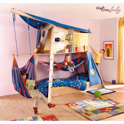 amazing boys bedroom bunk beds | the boo and the boy: Cool kids' beds from Viva baby