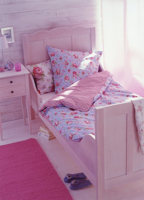 The Boo And The Boy: Girly Kids' Bedrooms