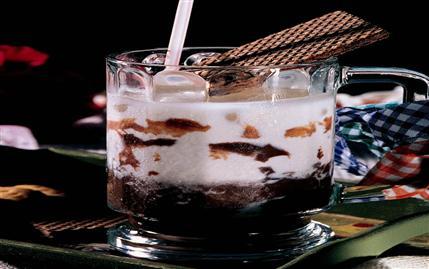 Çikolatalı Buzlu Süt