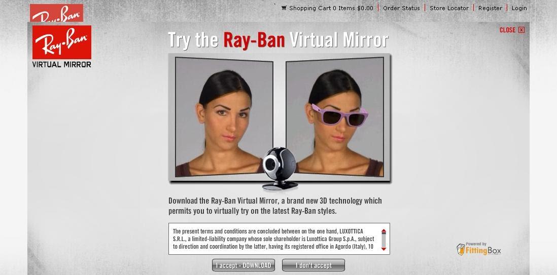 0df127b0077 iWear  Ray-Ban Virtual Mirror  Try it for yourself!