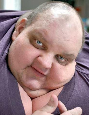 Funny Fat Man Hunger Strikes ...