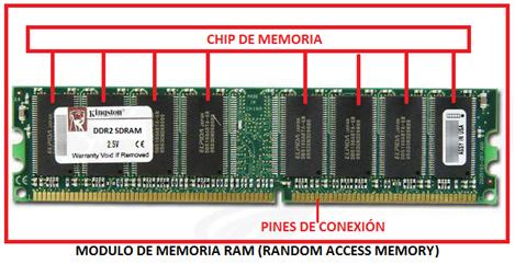 Tipos De Memoria Organización Y Funcionamiento Modulos De