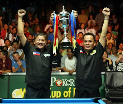 World Cup of Pool 2009, Championship, Efren Bata Reyes, Francisco Django Bustamante, Billiards