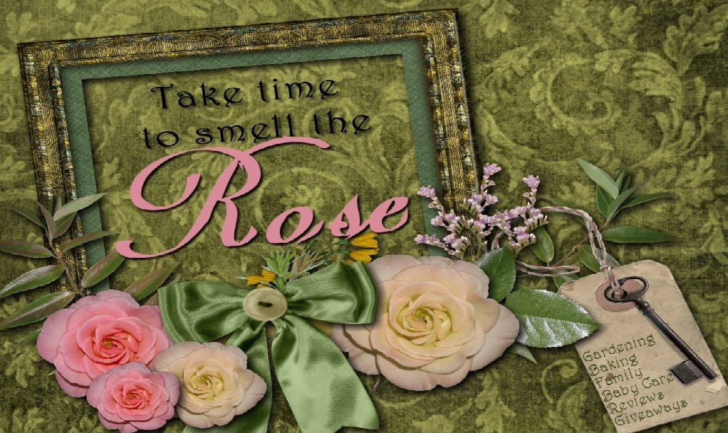 Take time to smell the rose