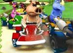 Cartoon Go Kart