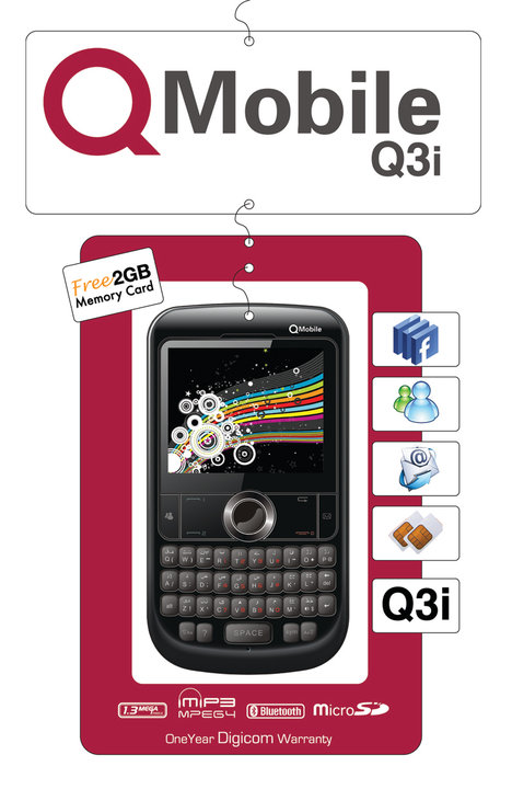 q mobile q3i price specifications and reviews in pakistan mobile rates. Black Bedroom Furniture Sets. Home Design Ideas