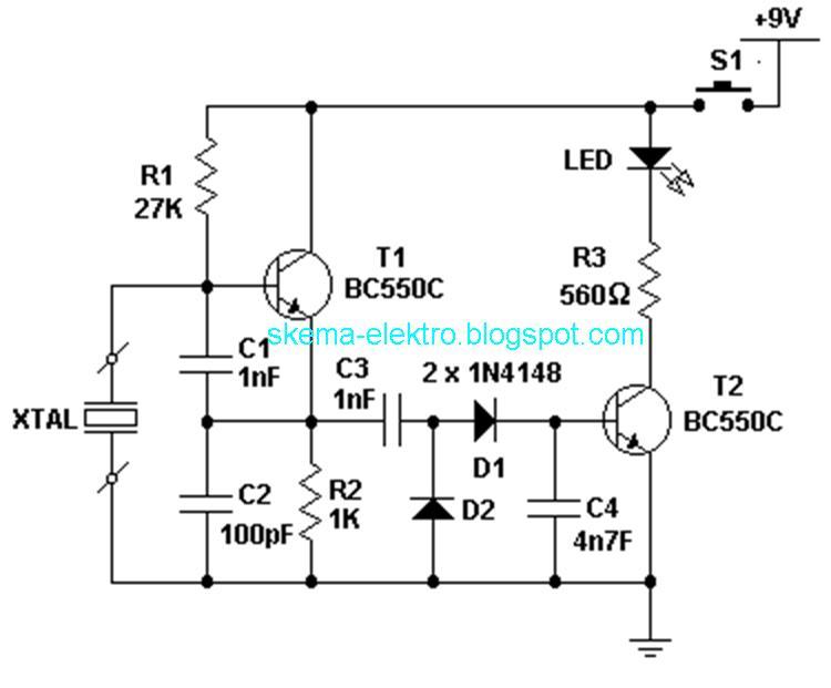 x tal tester circuit