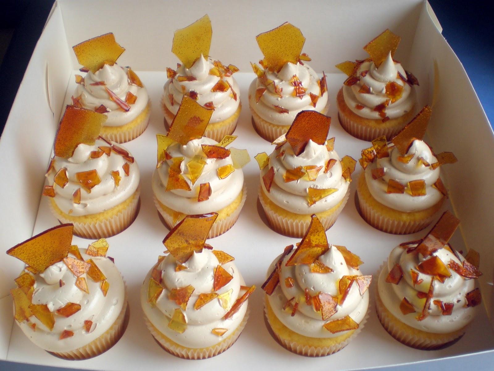 Sugar Siren Cakes Mackay: Crème Brulèe Cupcakes