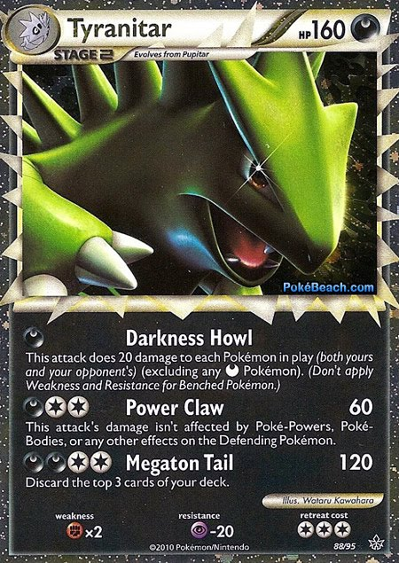 Pokemon Card of the Day: Tyranitar Prime (Unleashed ...