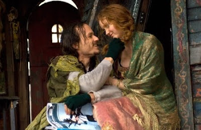 Heath Ledger and Lily Cole - Imaginarium of Dr. Parnassus