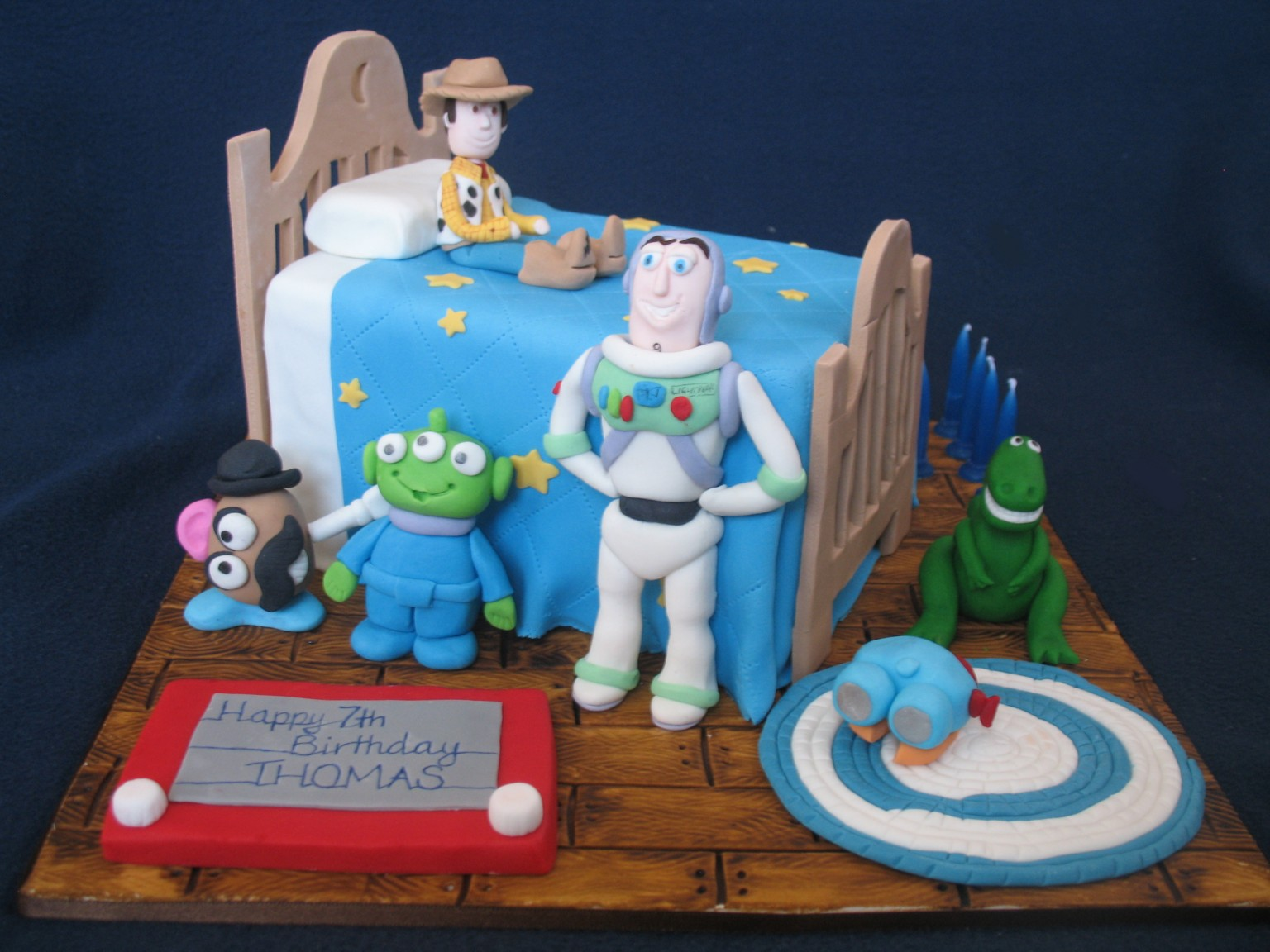 Blissfully Sweet: A Toy Story of a Birthday Cake
