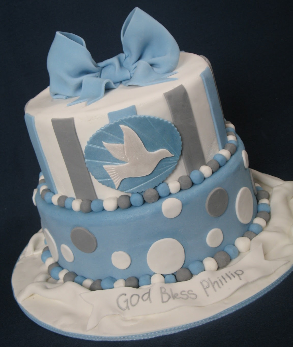 Images About Boy Christening Baptism Cake
