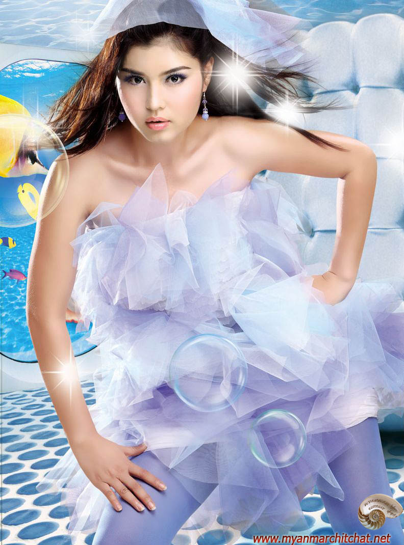 Myanmar Sexy Girls Sweet Angel Melody-4246
