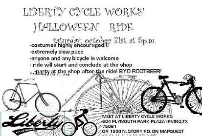 Liberty Cycle Halloween Group Ride
