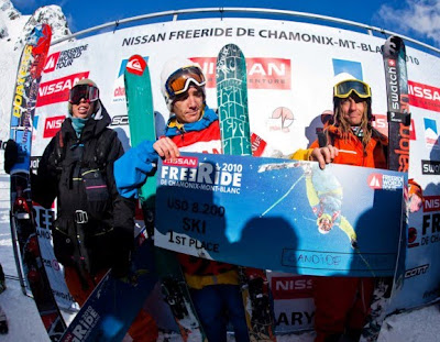 ... Mont-Blanc the Freeride World Tour 2010 kicked off in perfect weather  conditions on the 500 metre