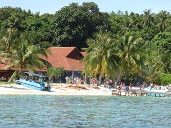 beach of lang tengah island