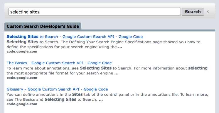 Google Developers Blog: Customize your search results page with themes