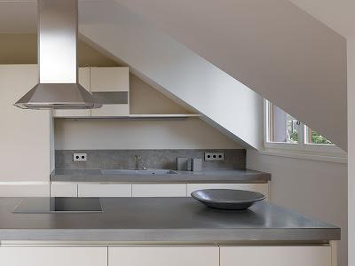 design handwerk betonarbeitsfl chen betonk che betonarbeitsplatte. Black Bedroom Furniture Sets. Home Design Ideas