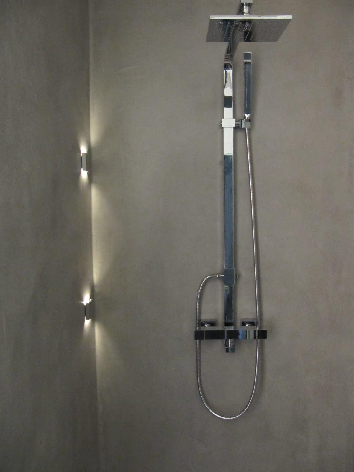 design handwerk beton cire dusche. Black Bedroom Furniture Sets. Home Design Ideas