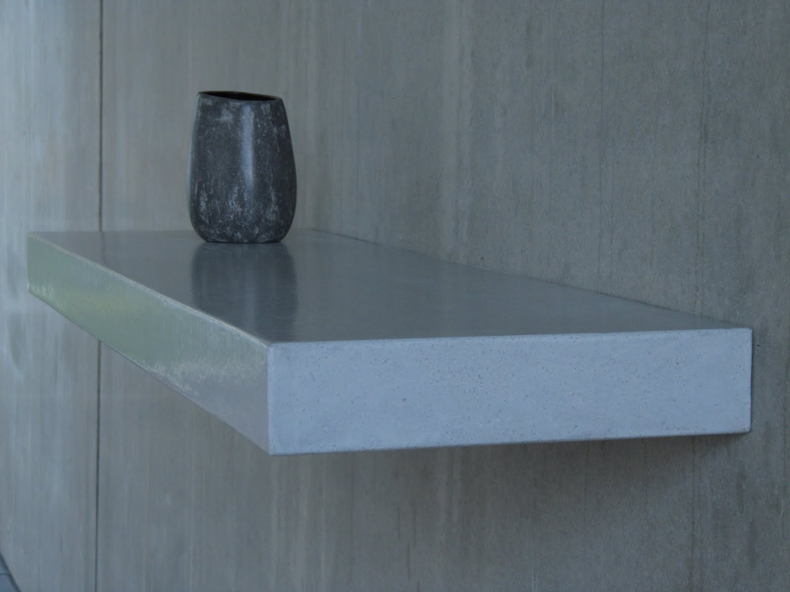 beton unique beton cire regal beton cire betonregal betonvase. Black Bedroom Furniture Sets. Home Design Ideas