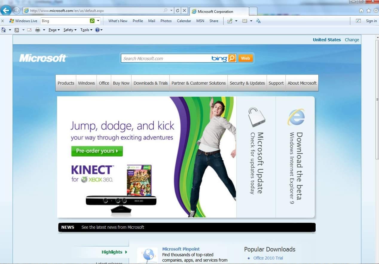 Naveed Babar Internet Explorer 9