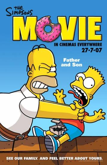 The Simpsons Movie Comic Book And Movie Reviews