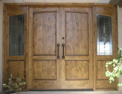 Desert Rose Door Refinishing