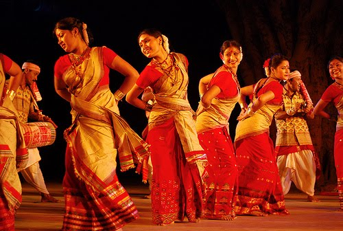 bohag bihu dance wallpaper assam
