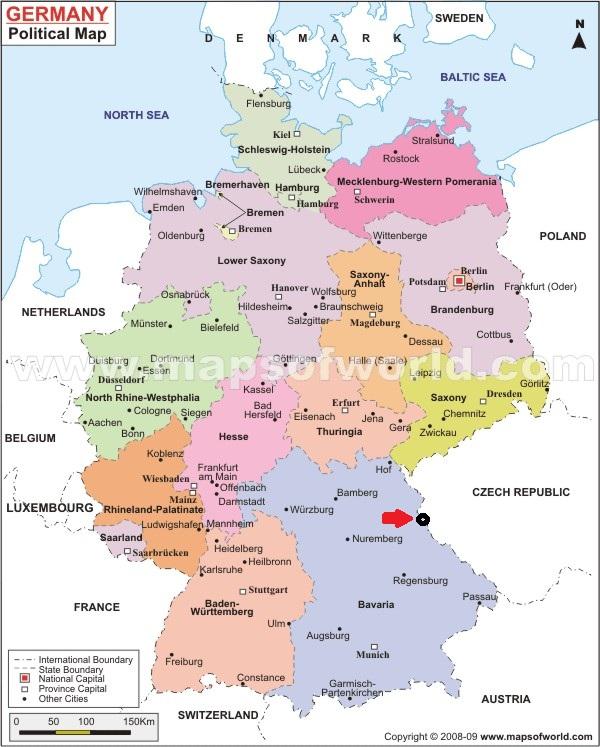 Map Of Germany 1871.German Empire Austrian Empire 1871 Prokosch Who Where How