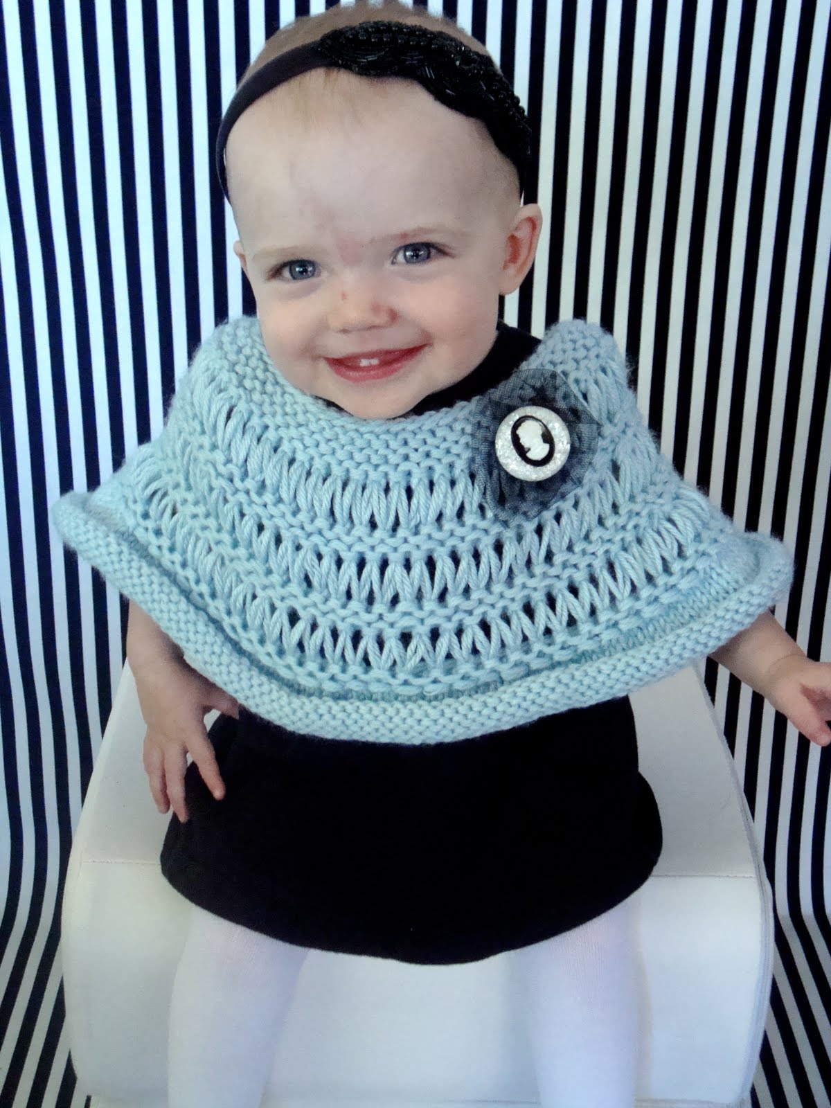 Sophie Poncho On Daily Knitter Vickie Howell