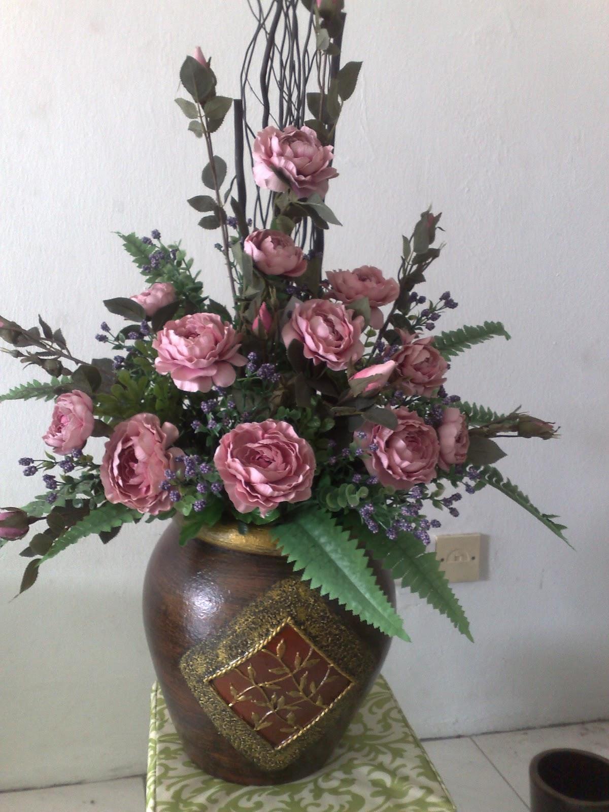 Gubahan Bunga Pasu Besar Desainrumahid