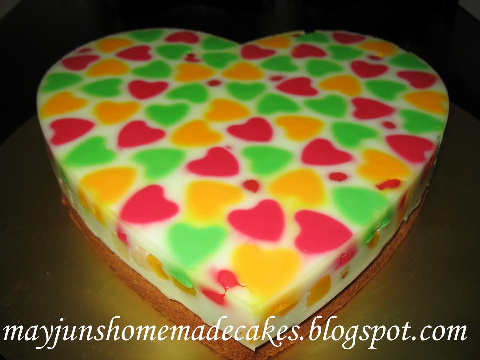 Jelly Cake Making: Mayjun's Homemade Cakes: Lovely Lovely Jelly Cake~ ~10