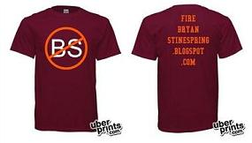 Fire Bryan Stinespring shirt
