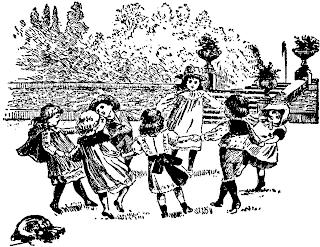 vintage party sketch
