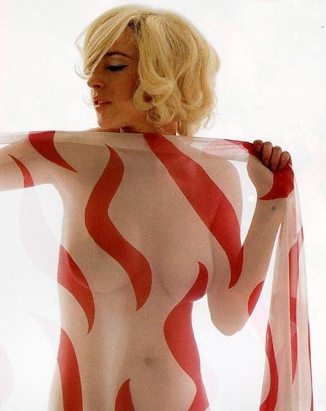 Lindsay Lohan Naked Marilyn 6