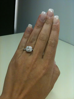 My Harry Winston Style Engagement Ring