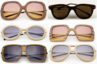 iWood sunglasses come in a variety of chic styles